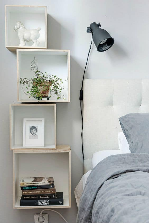 21 Super Small Nightstands Ready to Fit in Petite Bedrooms ...