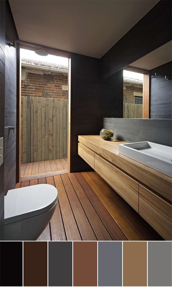 111 World`s Best Bathroom Color Schemes For Your Home ...