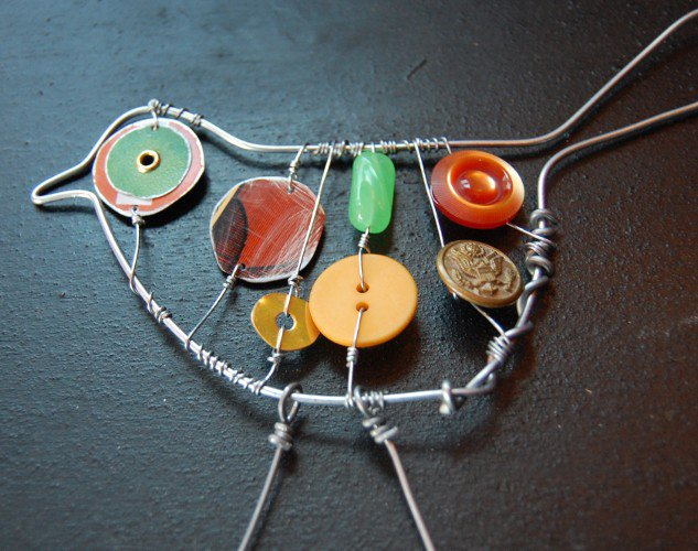 32. BUTTONS AND WIRE GETTING CREATIVE