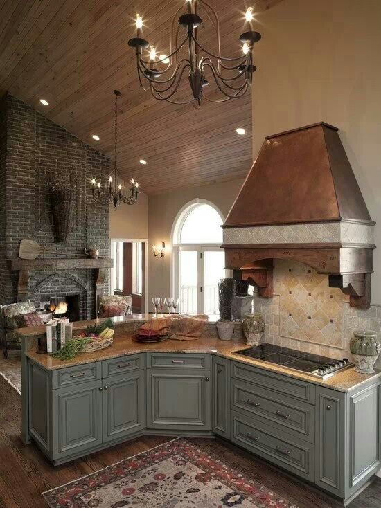 Majestic French Country Kitchen Designs - Homesthetics - Inspiring ...