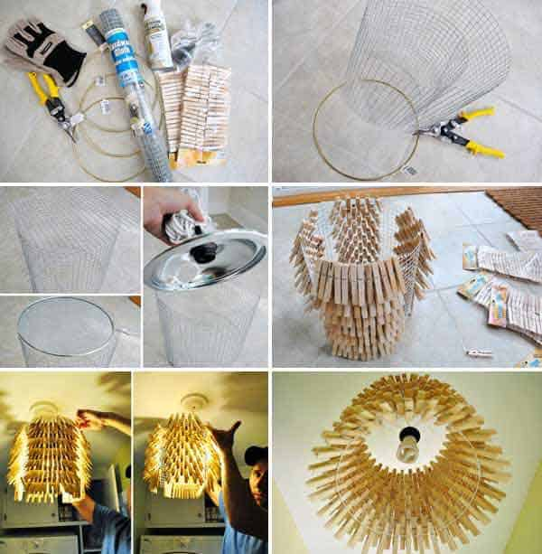 35. CREATE A REALLY UNIQUE LIGHTING FIXTURES
