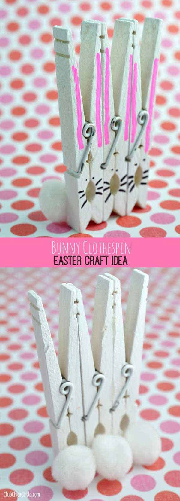 Cute Wood Craft Clothespin