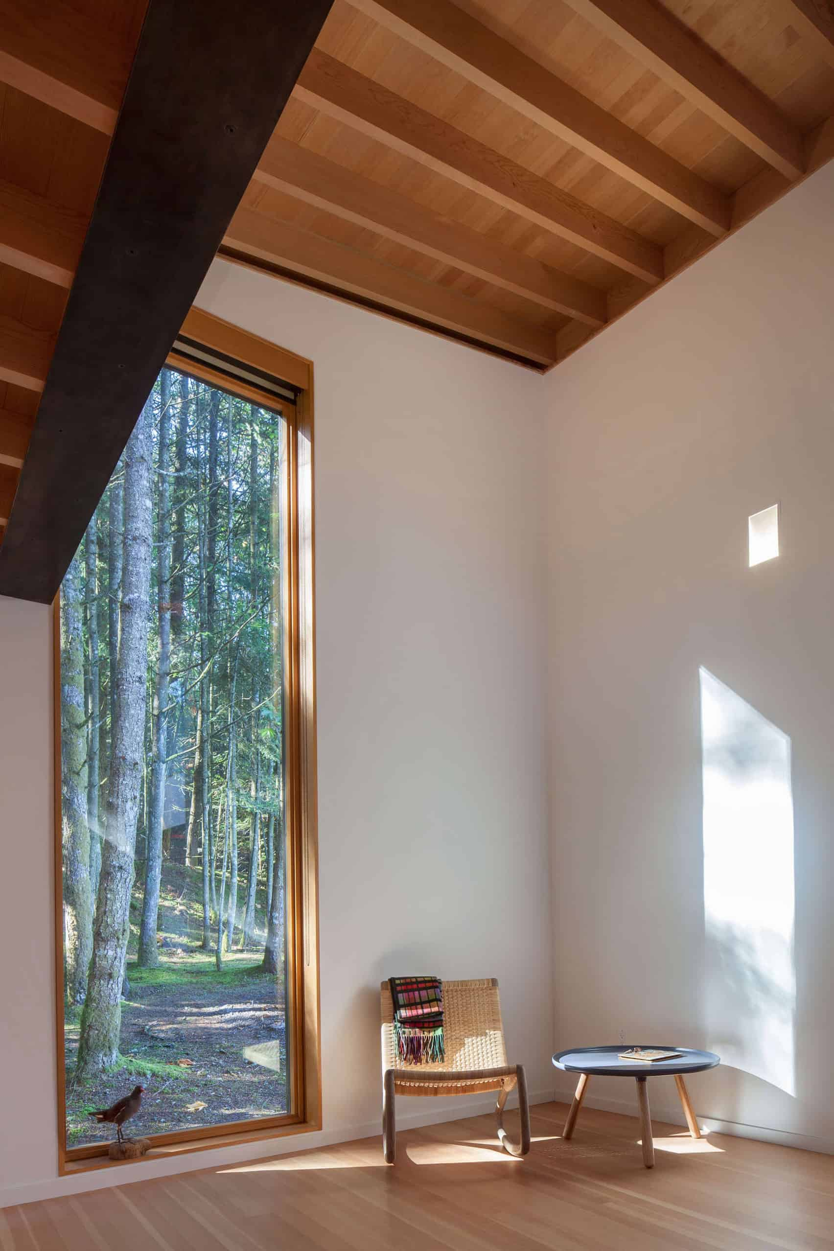 Dense British Columbia Forest Nestles Artist`s House by Agathom (6)