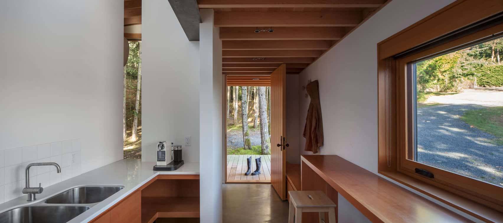 Dense British Columbia Forest Nestles Artist`s House by Agathom (7)