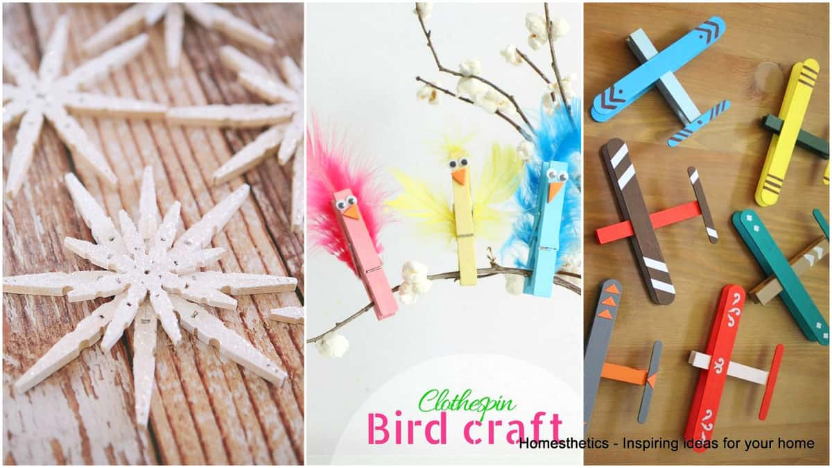 craft ideas using clothespins 37 ingeniously creative clothespin crafts for your home 3946