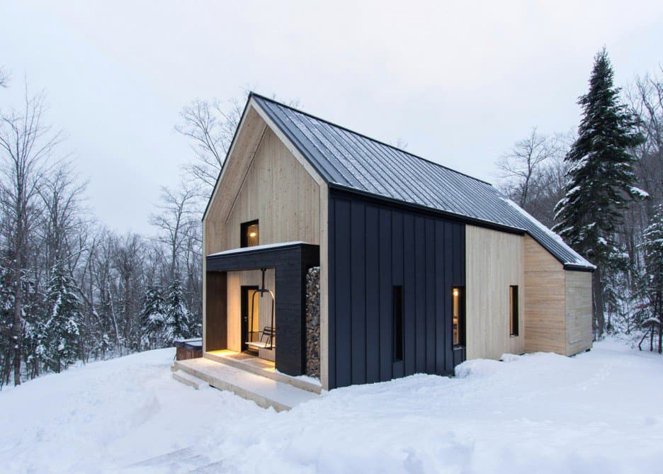 Scandinavian Inspired Cabin Envisioned by Cargo Architecture Wins Quebec (1)