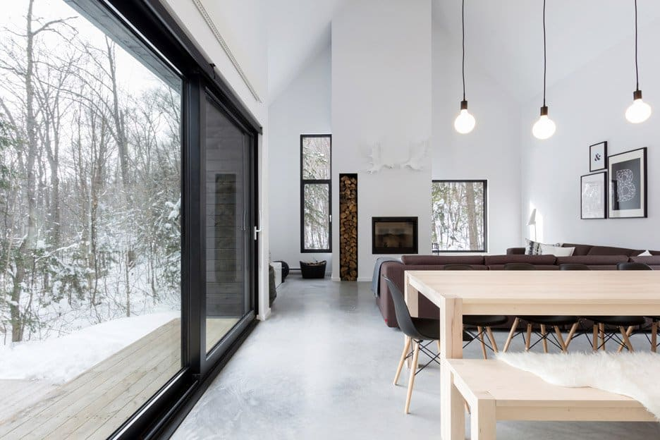 Scandinavian Inspired Cabin Envisioned by Cargo Architecture Wins Quebec (9)