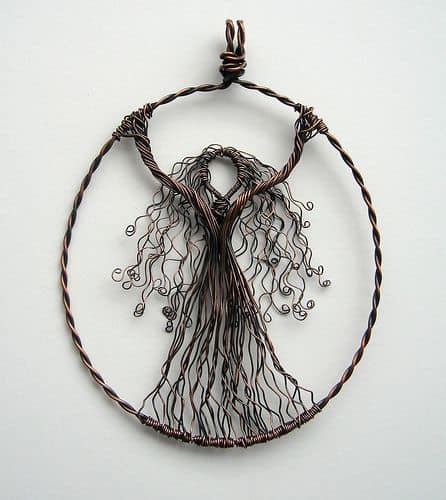 2. CRAFT A GORGEOUS EARTH GODDESS PENDANT