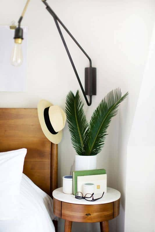 Clever Nightstand Alternatives For Small Spaces White Bedroom