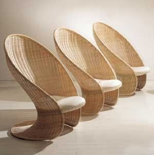 contemporary rattan