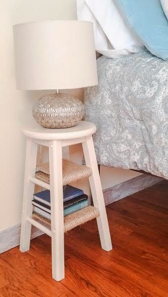 CUSTOMIZE A SMALL STOOL