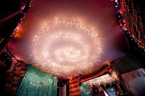 Bedroom Christmas Lights Ideas For A Cozy Atmosphere - Homesthetics ...