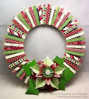 17. REDEFINE THE TRADITIONAL CHRISTMAS WREATH