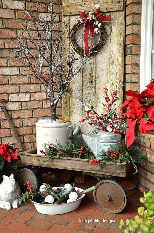 23 Enchanting Outdoor Christmas Decoration Ideas For Your Home