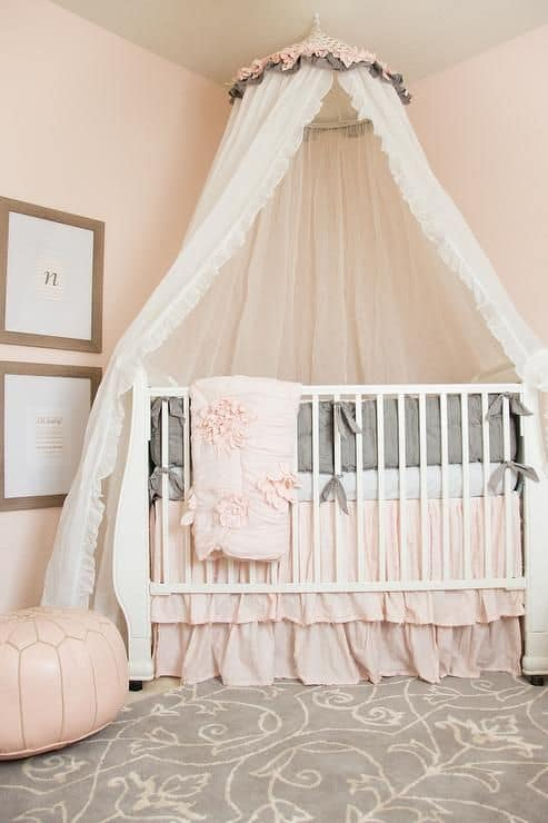 Crib Metal Bed Frame