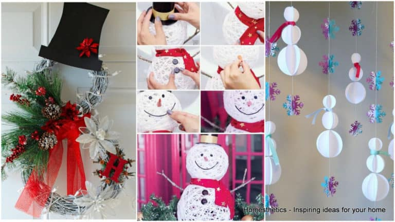 1 Snowman Decorations That Will Bring the Fun and Beauty in Your Home