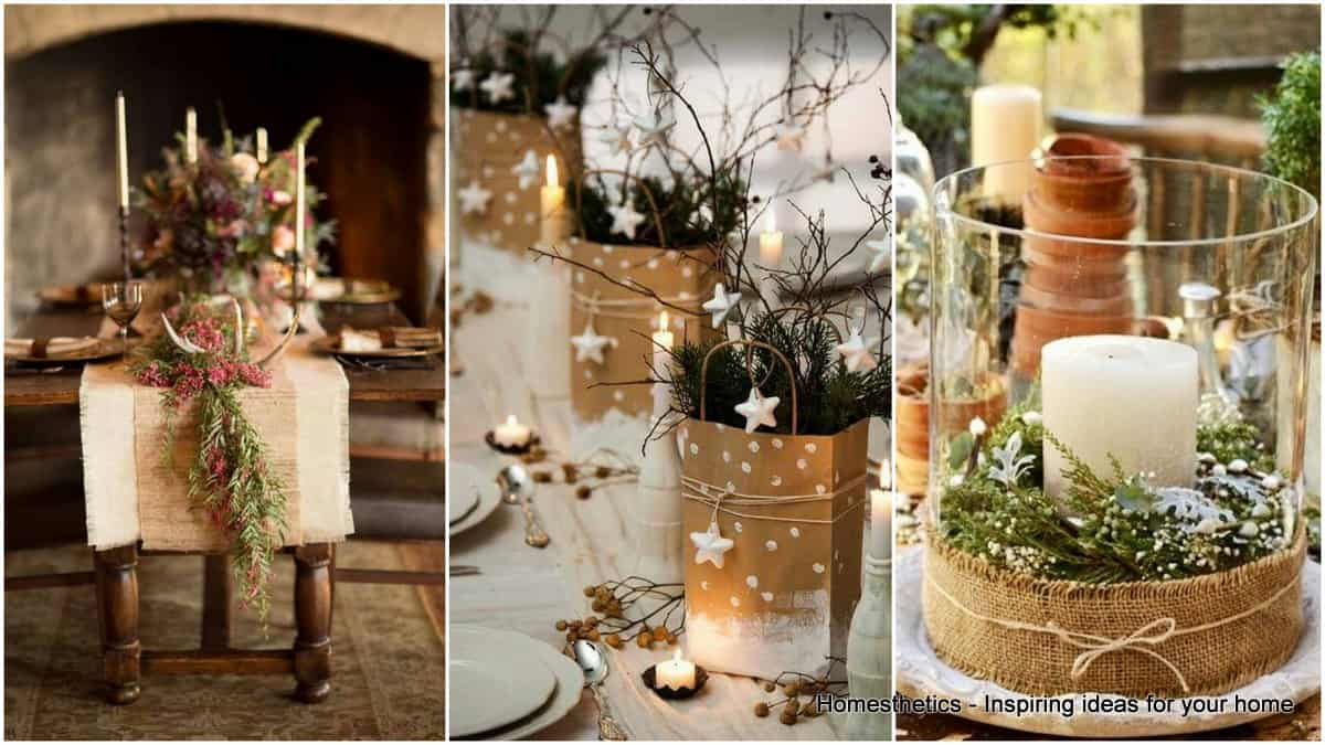 Setting The Christmas Table Decorations Right For The Most Wonderful Season Of All Homesthetics Inspiring Ideas For Your Home