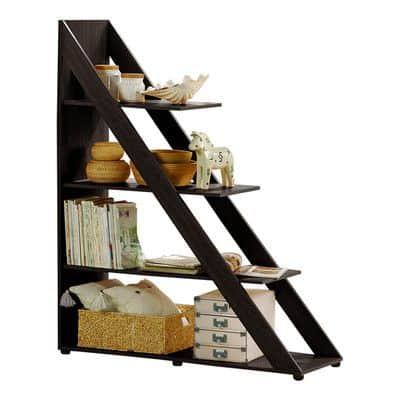 5. Under stair storage rack for convenience and style