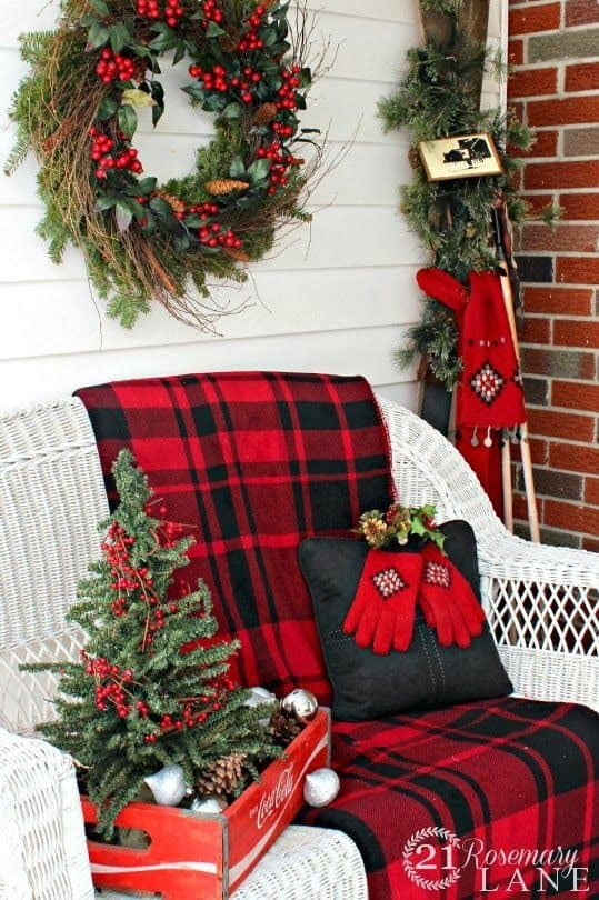 20 christmas in all its glory 675d31f8420a51935f9b356b6679b1ae - Red And Black Plaid Christmas Decor