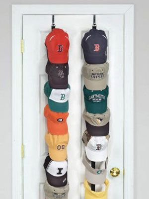 Genius and lovely hat storage ideas for your home for Hat hanging ideas