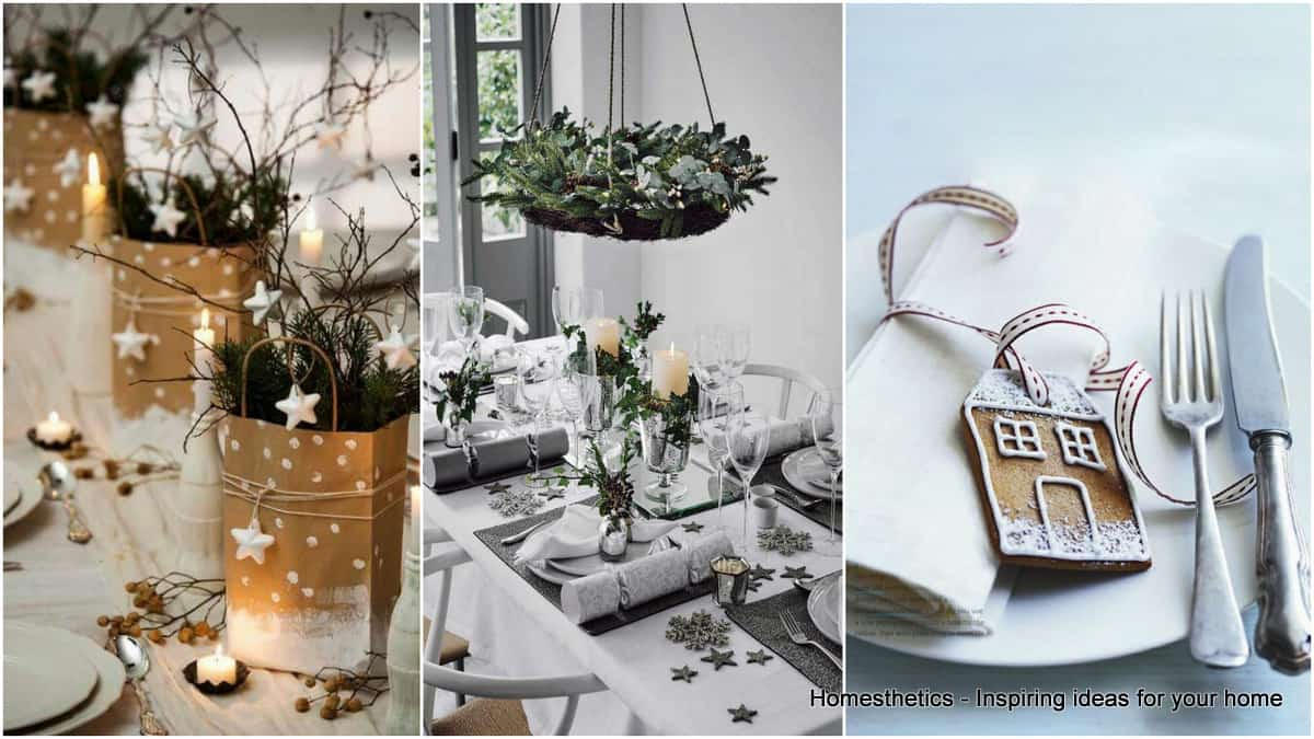 Find Your Christmas Dinner Table Setting Inspiration