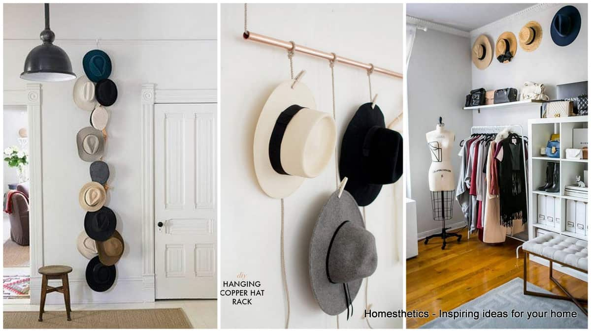 Genius and Lovely Hat Storage Ideas for Your Home