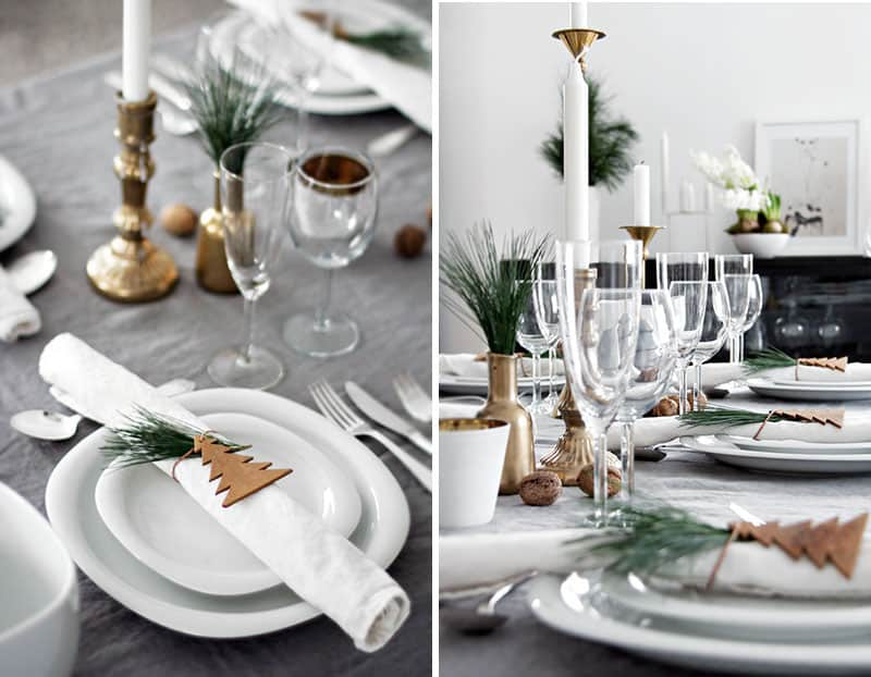 Find Your Christmas Dinner Table Inspiration-homesthetics.net (4) : table setting for christmas - pezcame.com