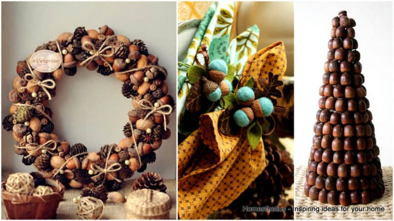 Incredibly Beautiful Acorn Crafts to Pursue