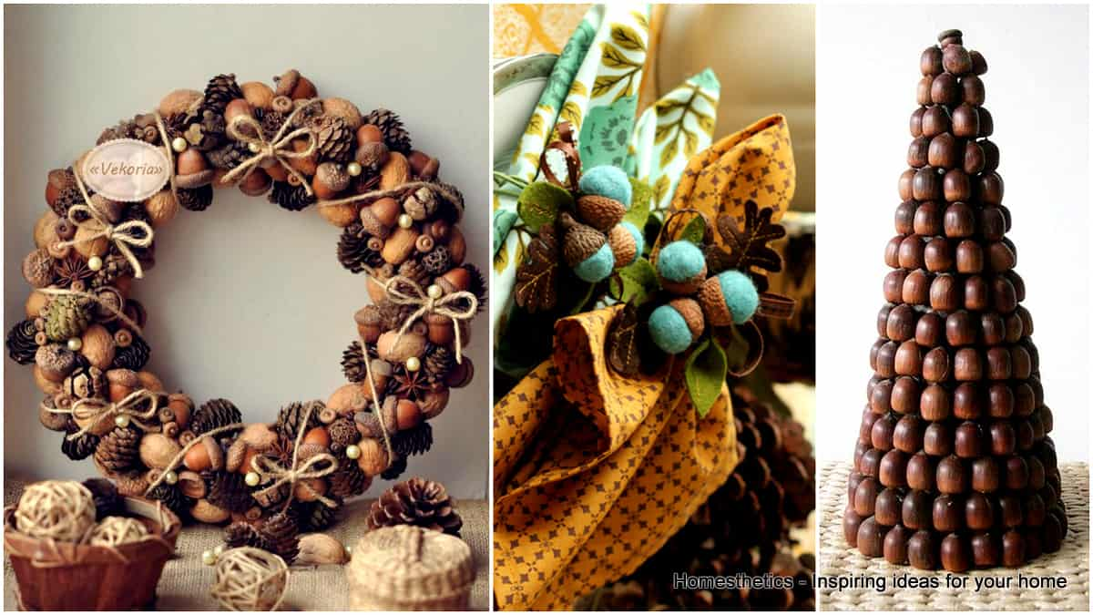 49 Incredibly Beautiful Acorn Crafts To Pursue