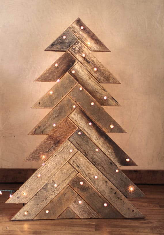 11. SIMPLE CHEVRON PATTERNED TREE