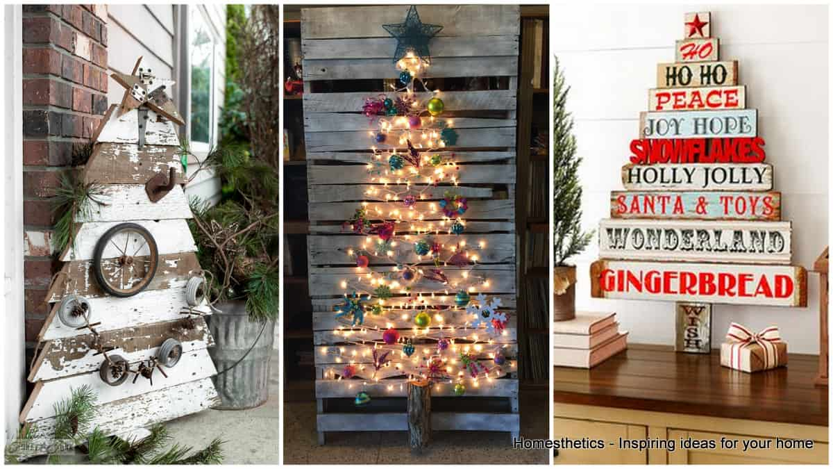 best sneakers ce25b bd6c4 Top 20 Pallet Christmas Tree Designs To Pursue ...