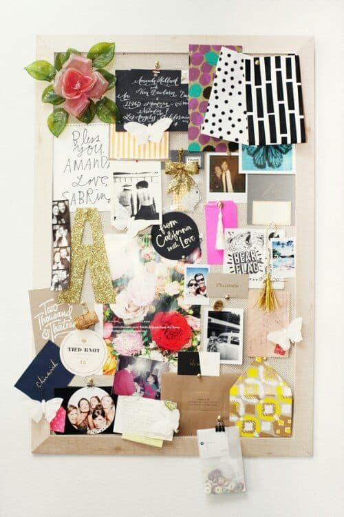 18. FILL YOUR INSPIRATION WALL