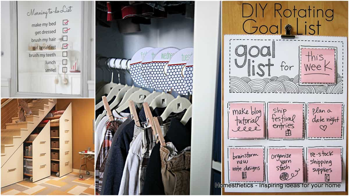 1 19 Ideas To Declutter Your Home and Organize Your Precious Time