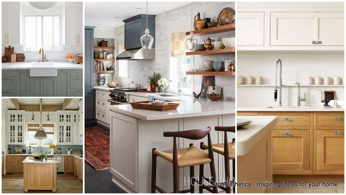 Revamp your kitchen with these gorgeous two tone kitchen Revamp old kitchen cabinets