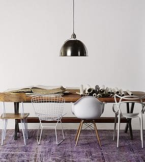 10. SCULPT SPACE with sculptural dinning chairs