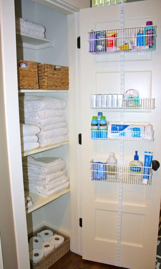 11. DOOR ORGANIZERS AS CLOSET STORAGE ENHANCERS