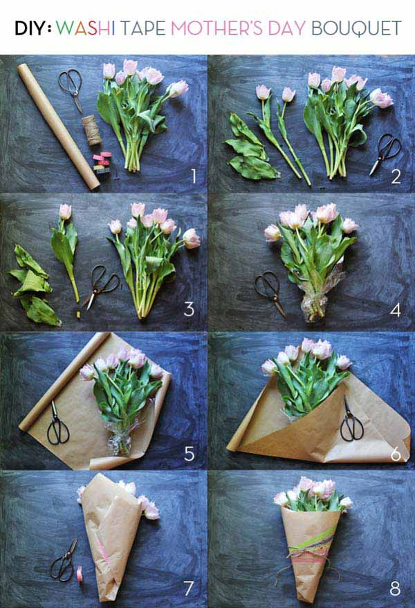 Diy Bouquet Tutorial Step By Step