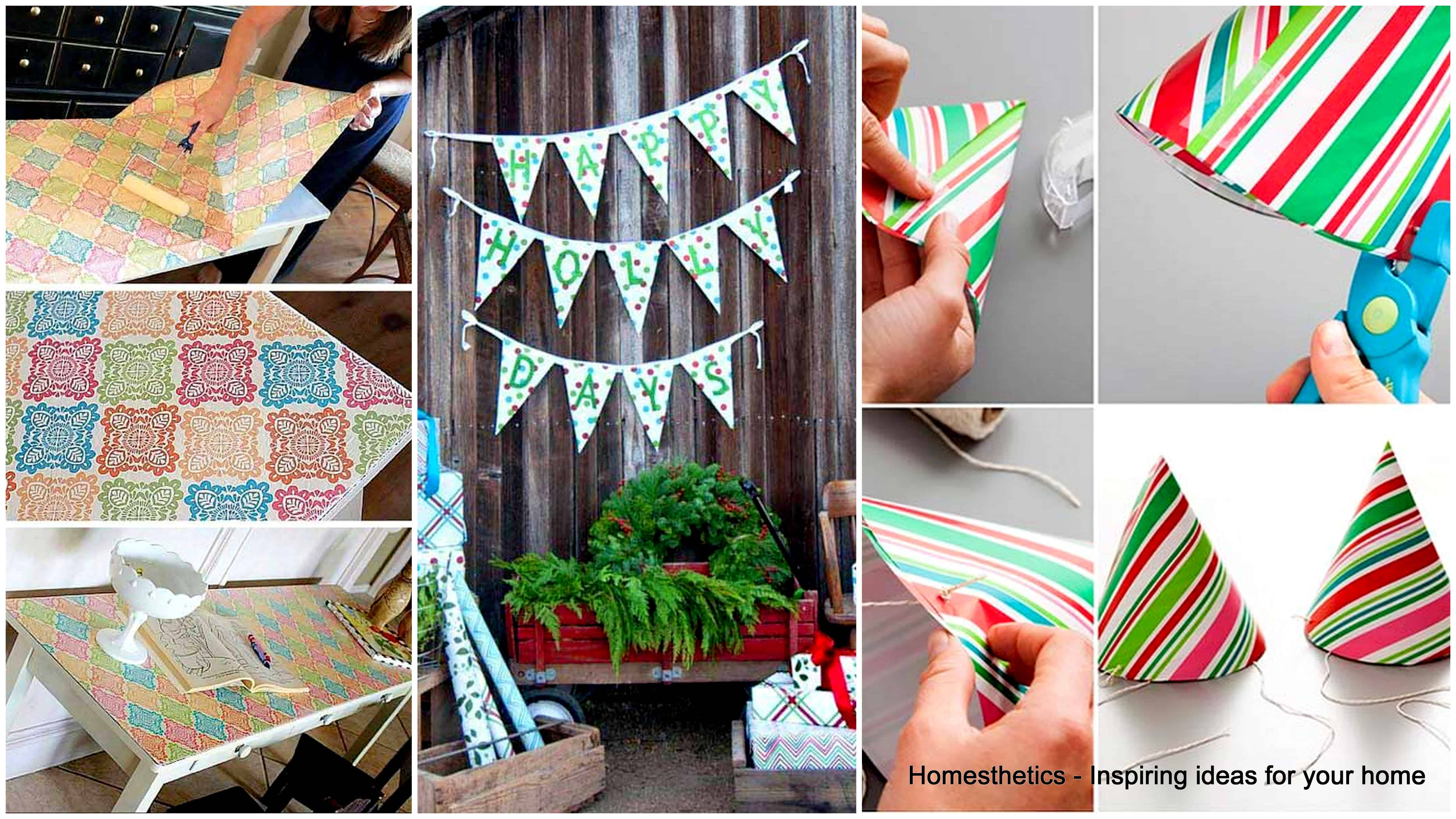 17 Epic Ways to Reuse Holiday Wrapping Paper Leftovers