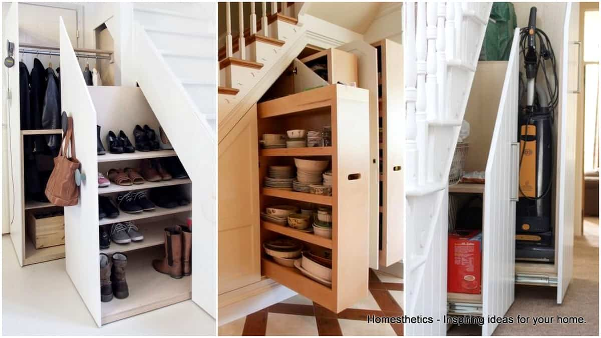 18 useful designs for your free under stair storage for Understairs storage