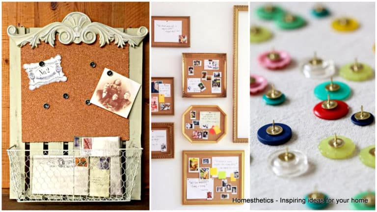 19 Exceptional DIY Bulletin Board Ideas to Revamp your Home