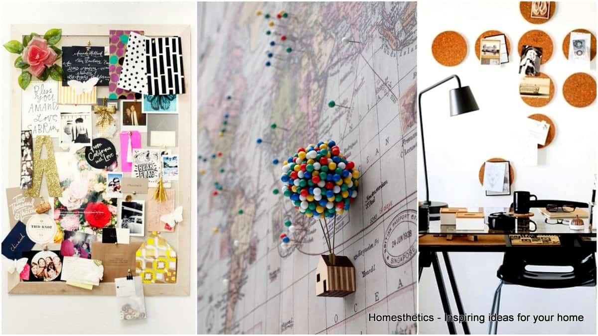 INGENIOUSLY SMART CORK BOARD IDEAS