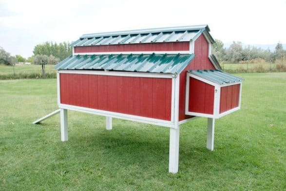 SMALL FARM CHICKEN COOP