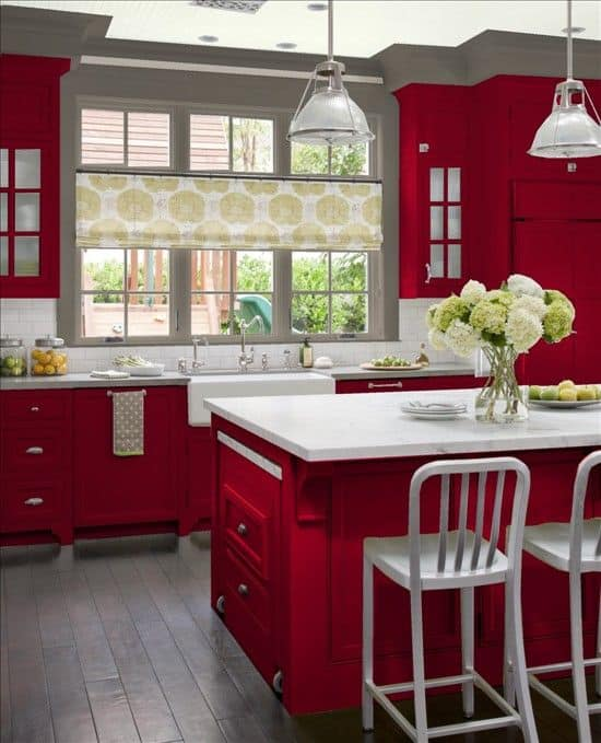 53 Bold Red Accent Walls To Beautify Your Home