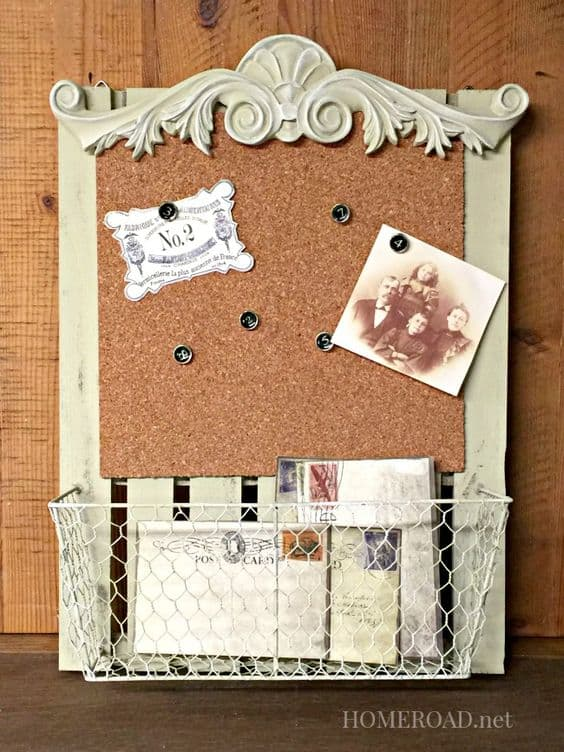 22 exceptional diy bulletin board ideas to revamp your for Cork bulletin board ideas