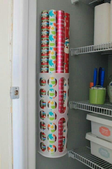 27. CHEAP BAG HOLDER FOR WRAPPING PAPER AND CRAFT ITEMS