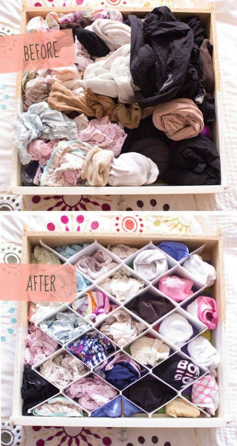29. STORAGE HACK FOR PEOPLE WITH TOO MANY CLOTHES