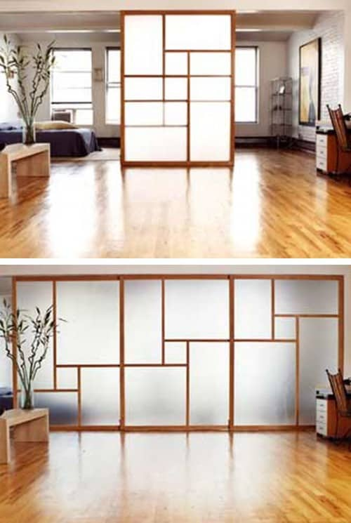 Delicieux 30 Room Dividers Perfect For A Studio Apartment   Homesthetics   Inspiring  Ideas For Your Home.