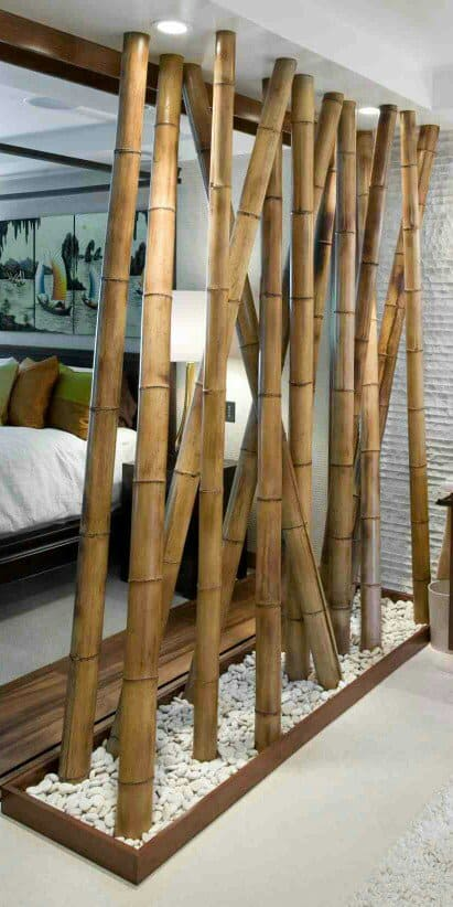 We Continue Our Selection Of Room Dividers With Another Natural Material  That Has Been Used Quite A Lot In Interior Design Nowadays, The Bamboo.
