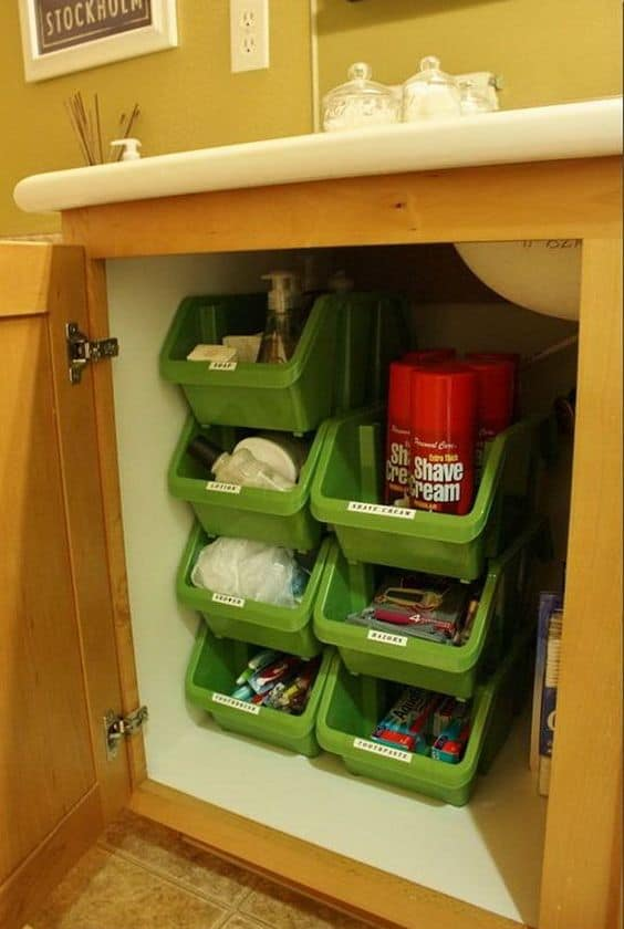39. TRAYS FOR UNDER THE SINK ORGANIZING
