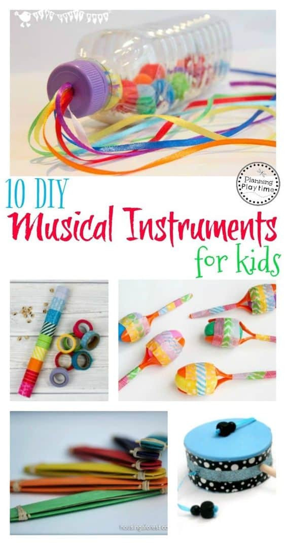 111 cute and easy crafts for kids that parents can help for Diy inventions household items
